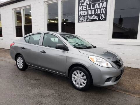 2014 Nissan Versa for sale at Kellam Premium Auto Sales & Detailing LLC in Loudon TN