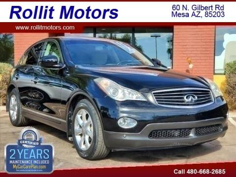2008 Infiniti EX35 for sale at Rollit Motors in Mesa AZ