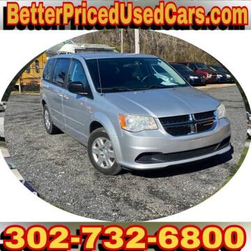 2012 Dodge Grand Caravan for sale at Better Priced Used Cars in Frankford DE