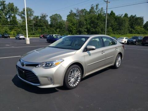 2018 Toyota Avalon for sale at White's Honda Toyota of Lima in Lima OH