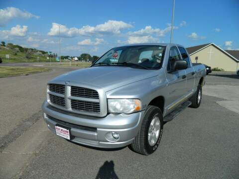 2005 Dodge Ram Pickup 1500 for sale at Dick Nelson Sales & Leasing in Valley City ND