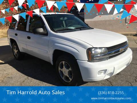 2006 Chevrolet TrailBlazer for sale at Tim Harrold Auto Sales in Wilkesboro NC
