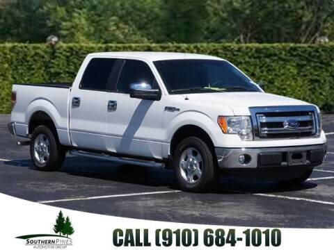 2014 Ford F-150 for sale at PHIL SMITH AUTOMOTIVE GROUP - Pinehurst Nissan Kia in Southern Pines NC