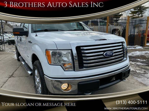 2011 Ford F-150 for sale at 3 Brothers Auto Sales Inc in Detroit MI