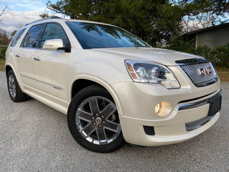 2011 GMC Acadia for sale at Byron Thomas Auto Sales, Inc. in Scotland Neck NC