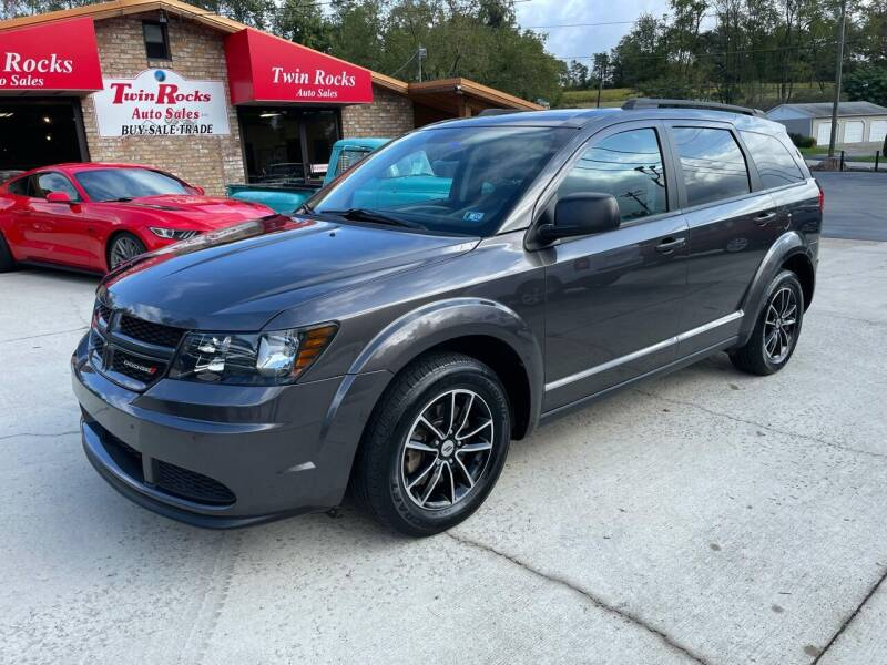 2018 Dodge Journey for sale at Twin Rocks Auto Sales LLC in Uniontown PA