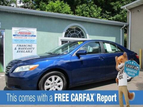 2009 Toyota Camry Hybrid for sale at Precision Automotive Group in Youngstown OH