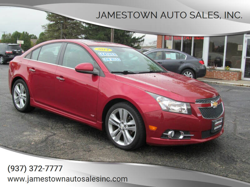 2014 Chevrolet Cruze for sale at Jamestown Auto Sales, Inc. in Xenia OH