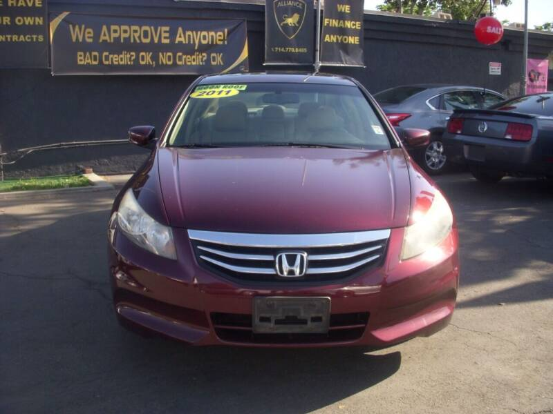 2011 Honda Accord for sale at Alliance Auto Group Inc in Fullerton CA