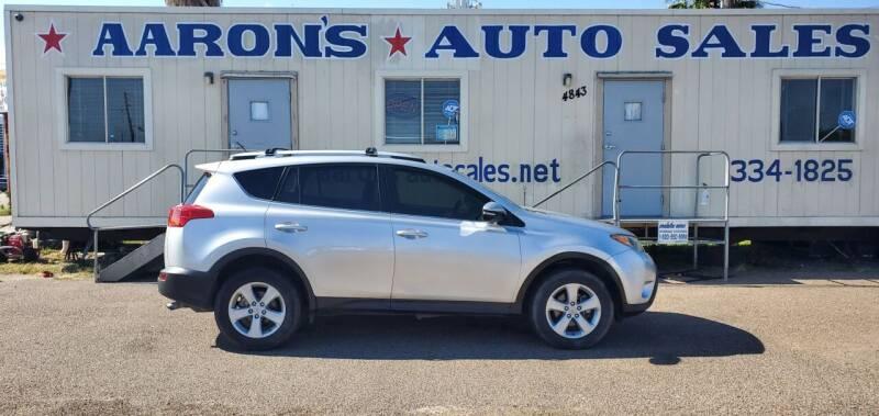 2014 Toyota RAV4 for sale at Aaron's Auto Sales in Corpus Christi TX