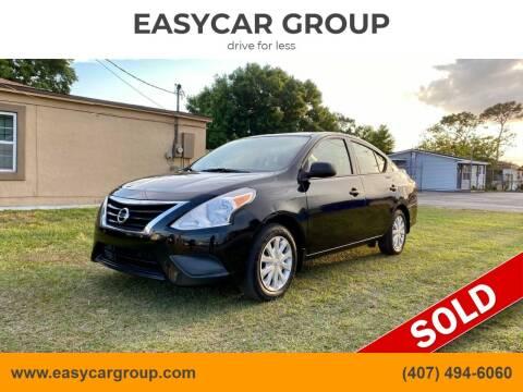 2015 Nissan Versa for sale at EASYCAR GROUP in Orlando FL