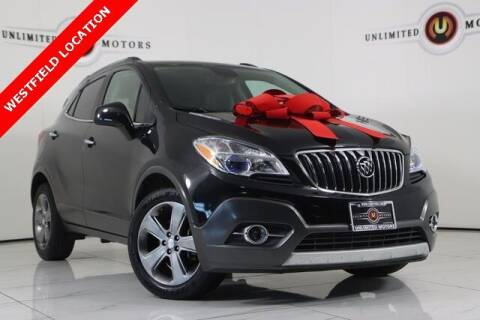 2013 Buick Encore for sale at INDY'S UNLIMITED MOTORS - UNLIMITED MOTORS in Westfield IN