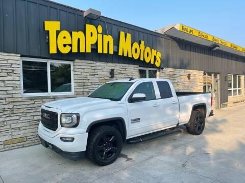 2017 GMC Sierra 1500 for sale at TenPin Motors LLC in Fort Atkinson WI