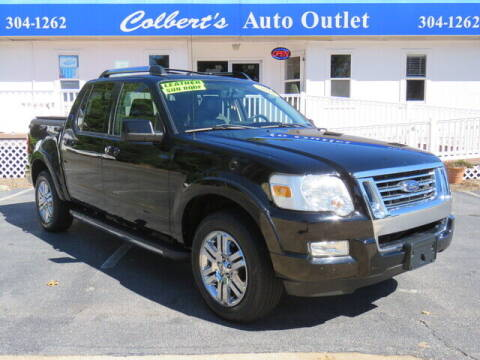 2010 Ford Explorer Sport Trac for sale at Colbert's Auto Outlet in Hickory NC