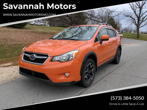 2013 Subaru XV Crosstrek for sale at Savannah Motors in Elsberry MO