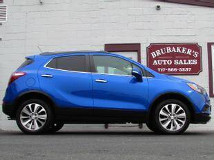 2017 Buick Encore for sale at Brubakers Auto Sales in Myerstown PA