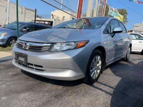 2012 Honda Civic for sale at Cypress Motors of Ridgewood in Ridgewood NY