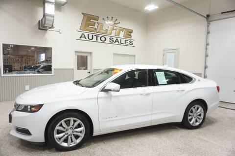 2017 Chevrolet Impala for sale at Elite Auto Sales in Ammon ID
