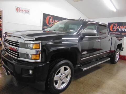 2015 Chevrolet Silverado 2500HD for sale at Champion Motors in Amherst NH