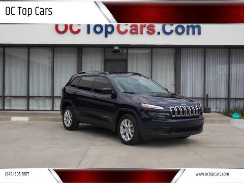 2016 Jeep Cherokee for sale at OC Top Cars in Irvine CA