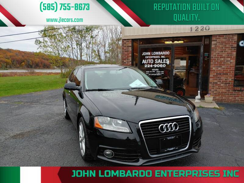 2012 Audi A3 for sale at John Lombardo Enterprises Inc in Rochester NY