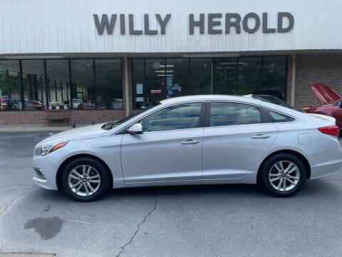 2016 Hyundai Sonata for sale at Willy Herold Automotive in Columbus GA