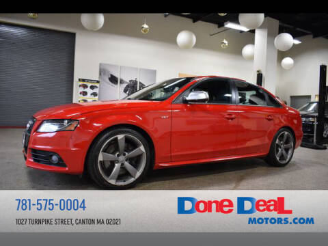 2011 Audi S4 for sale at DONE DEAL MOTORS in Canton MA