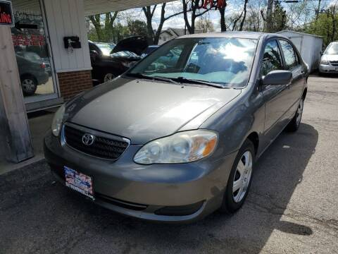 2007 Toyota Corolla for sale at New Wheels in Glendale Heights IL