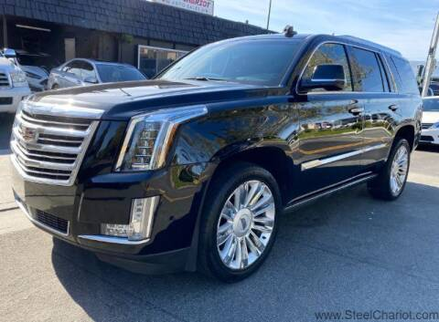 2017 Cadillac Escalade for sale at Steel Chariot in San Jose CA