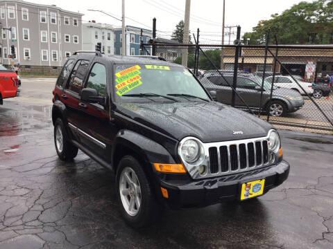 2006 Jeep Liberty for sale at Adams Street Motor Company LLC in Boston MA