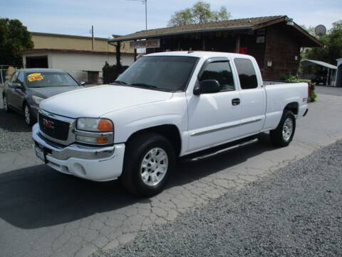 2006 GMC Sierra 1500 for sale at Manzanita Car Sales in Gridley CA