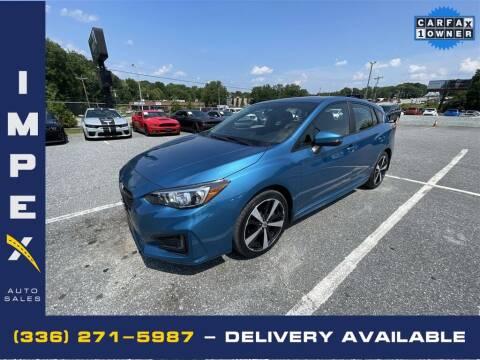 2018 Subaru Impreza for sale at Impex Auto Sales in Greensboro NC