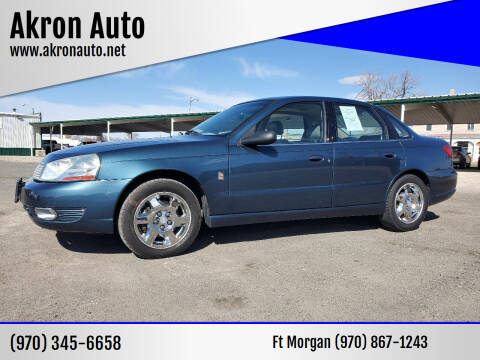 2003 Saturn L-Series for sale at Akron Auto in Akron CO