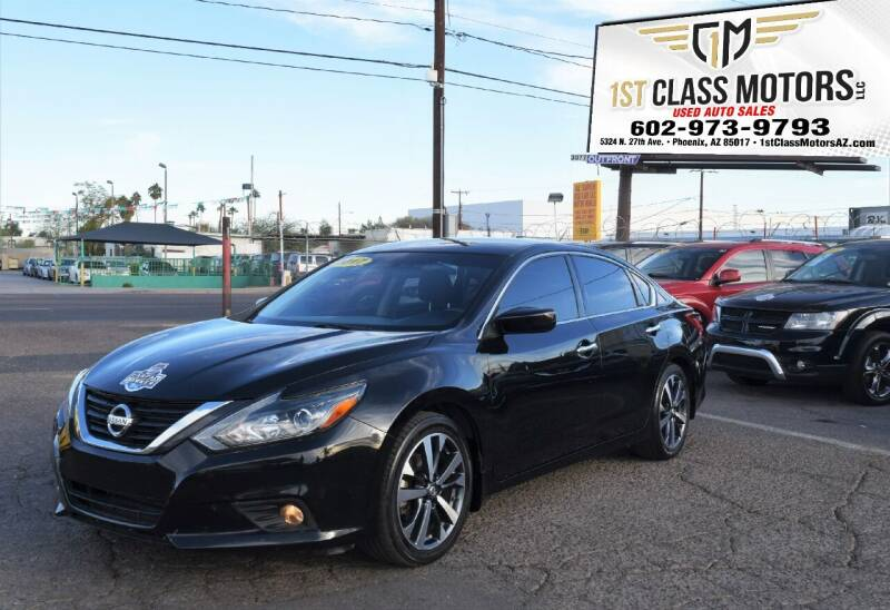 2017 Nissan Altima for sale at 1st Class Motors in Phoenix AZ