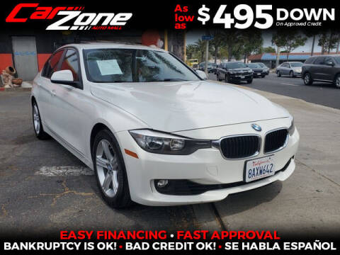 2014 BMW 3 Series for sale at Carzone Automall in South Gate CA