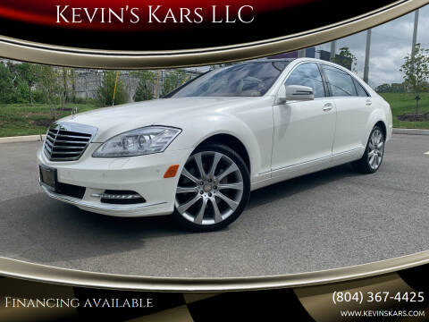 2013 Mercedes-Benz S-Class for sale at Kevin's Kars LLC in Richmond VA