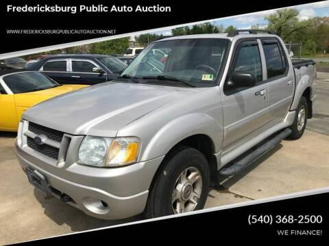 2004 Ford Explorer Sport Trac for sale at FPAA in Fredericksburg VA