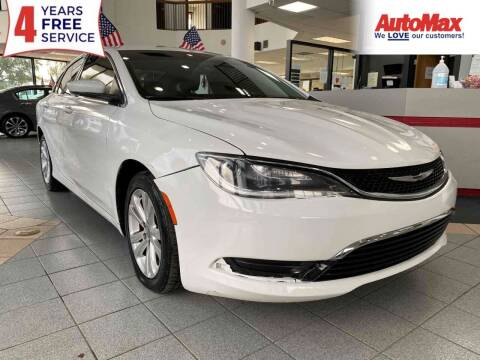 2015 Chrysler 200 for sale at Auto Max in Hollywood FL
