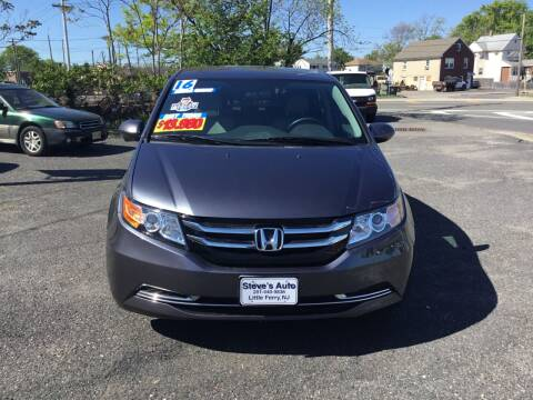 2016 Honda Odyssey for sale at Steves Auto Sales in Little Ferry NJ
