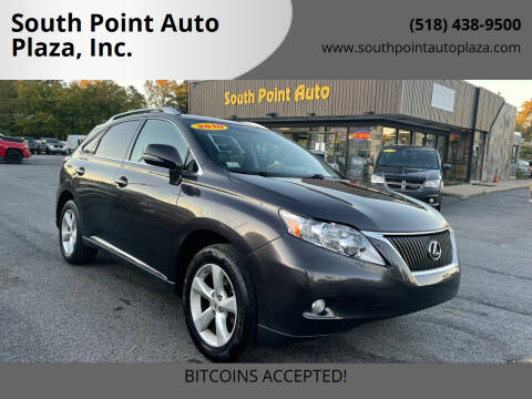 2010 Lexus RX 350 for sale at South Point Auto Plaza, Inc. in Albany NY