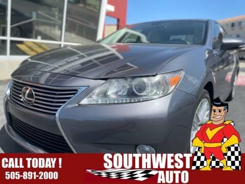 2013 Lexus ES 350 for sale at SOUTHWEST AUTO in Albuquerque NM