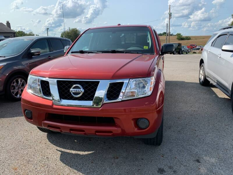2015 Nissan Frontier for sale at Todd Nolley Auto Sales in Campbellsville KY