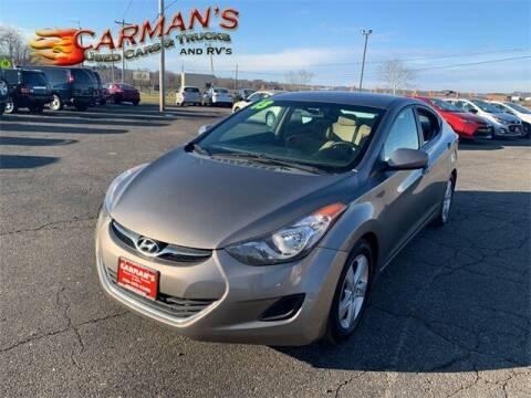 2013 Hyundai Elantra for sale at Carmans Used Cars & Trucks in Jackson OH