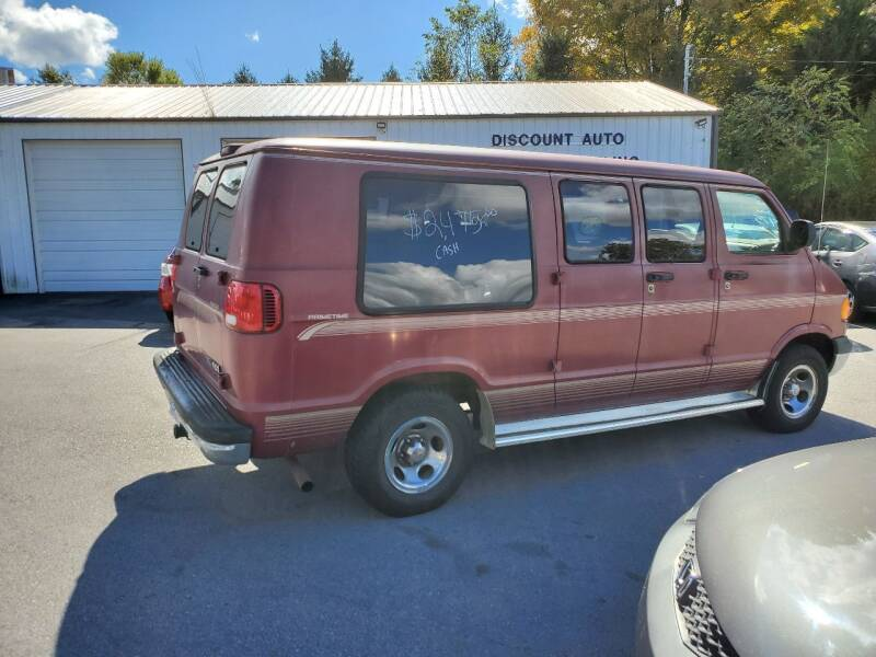 1998 Dodge Ram Van for sale at DISCOUNT AUTO SALES in Johnson City TN