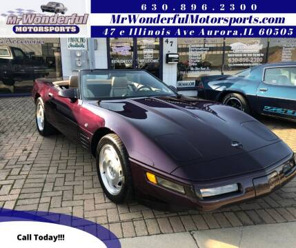 1993 Chevrolet Corvette for sale at Mr Wonderful Motorsports - Muscle Cars in Aurora IL