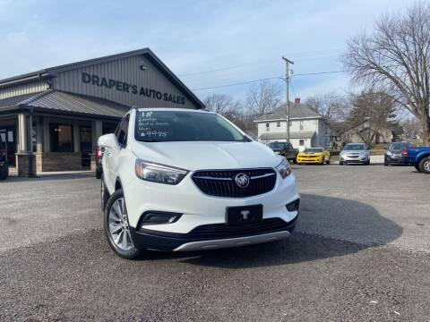 2018 Buick Encore for sale at Drapers Auto Sales in Peru IN