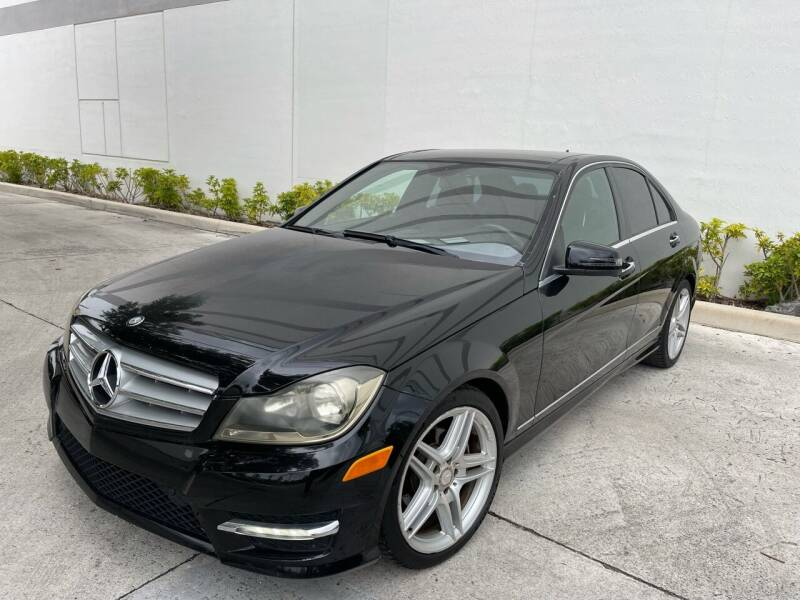 2012 Mercedes-Benz C-Class for sale at Auto Beast in Fort Lauderdale FL