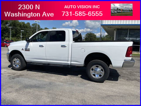 2018 RAM Ram Pickup 2500 for sale at Auto Vision Inc. in Brownsville TN