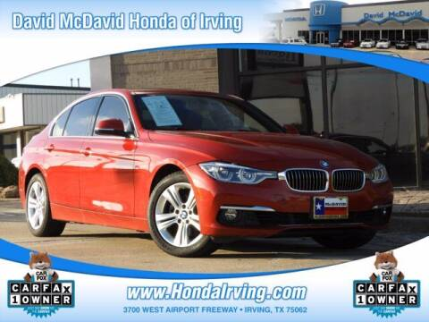 2016 BMW 3 Series for sale at DAVID McDAVID HONDA OF IRVING in Irving TX
