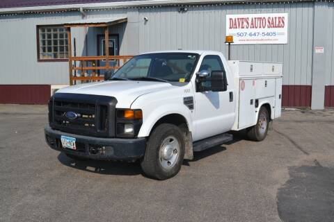 2008 Ford F-250 Super Duty for sale at Dave's Auto Sales in Winthrop MN